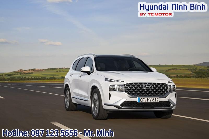 New Hyundai Santafe 2021 Xăng Đặc Biệt