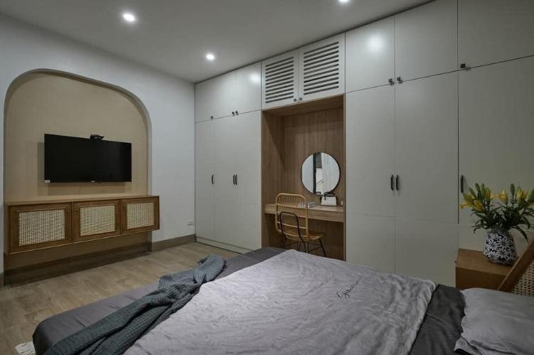 Căn nhà phố được thiết kế và thi công trọn gói phần nội thất Hoa Phương