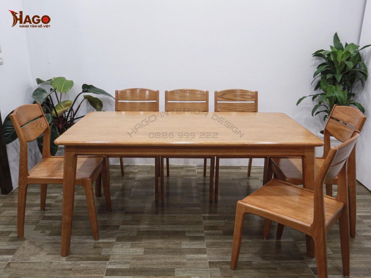 Bàn ghế ăn gỗ HP566