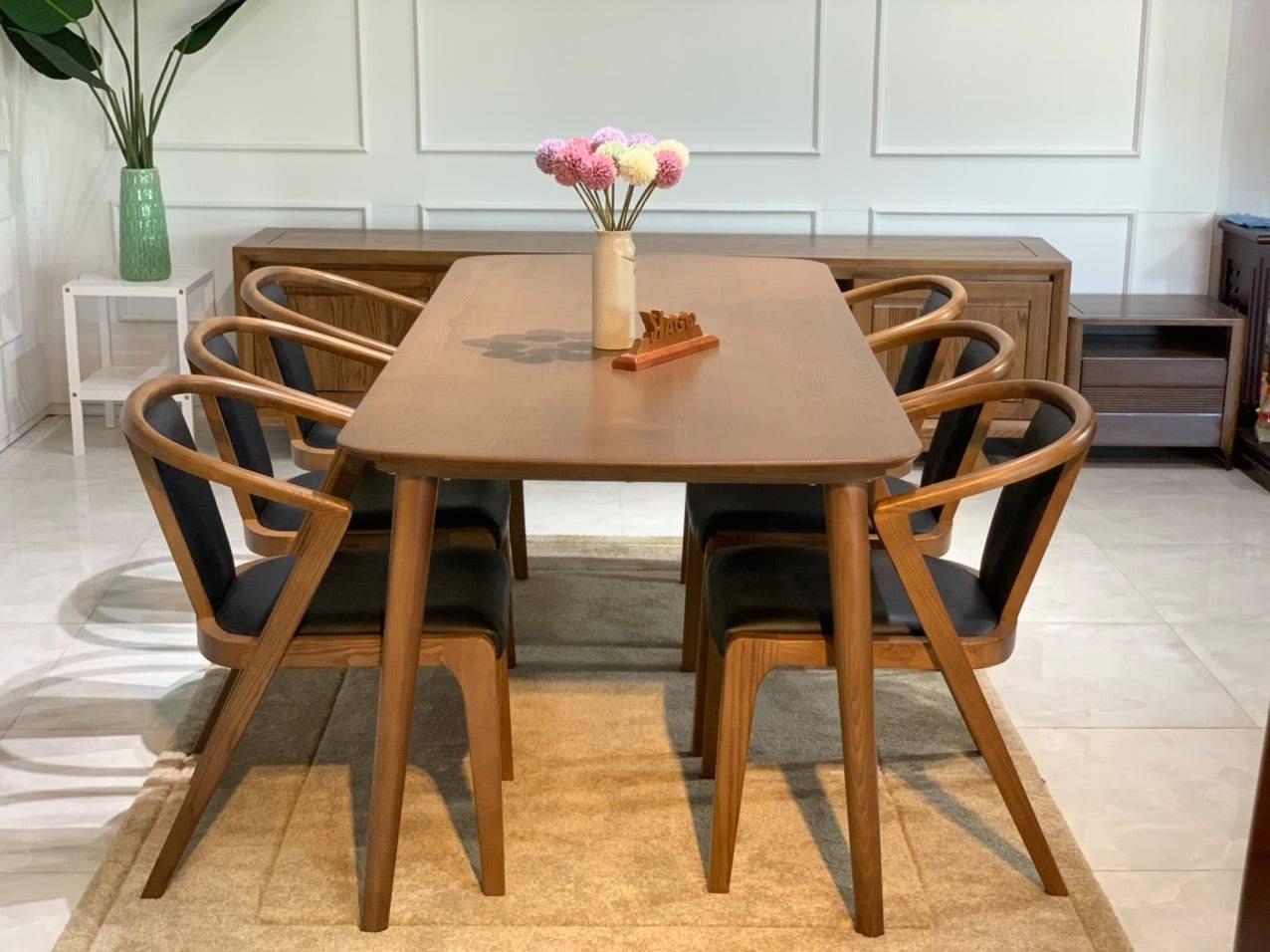 Bàn ghế ăn gỗ HP266