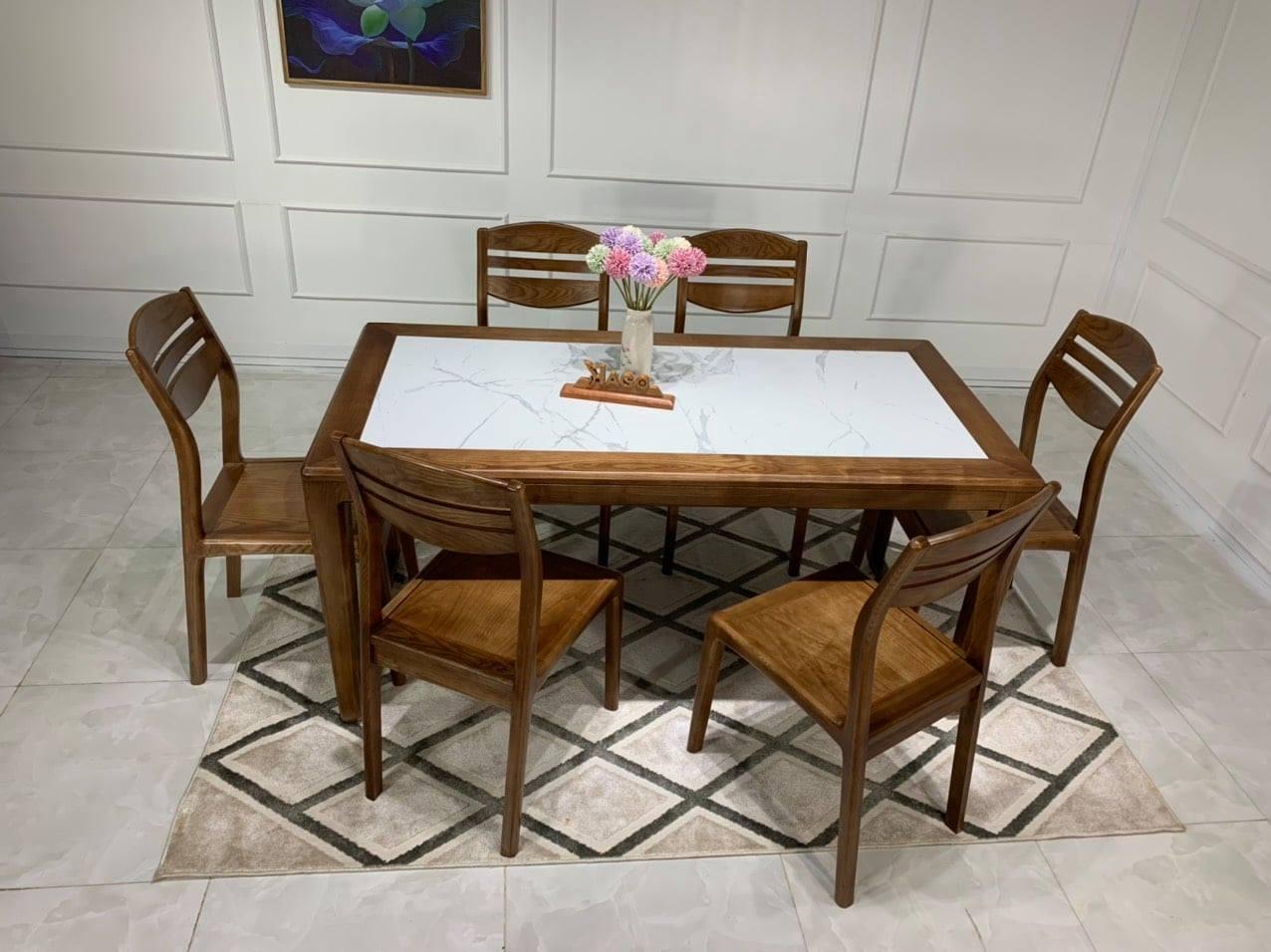 Bàn ghế ăn gỗ HP156