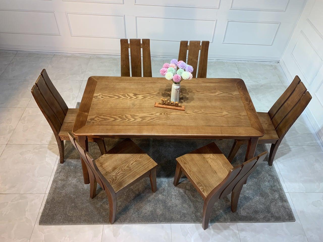 Bàn ghế ăn gỗ HP766