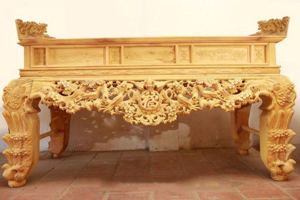 Mẫu bàn thờ gia tiên HP02