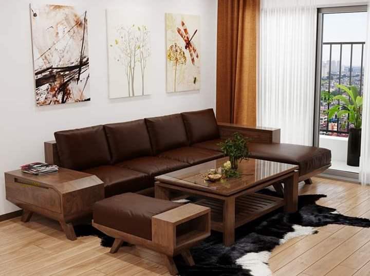Bộ Sofar gỗ HP14
