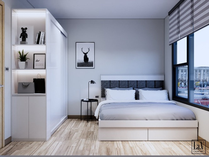 Thiết kế và thi công căn hộ nhà chị Vân S2-02  SmartCity Tây Mỗ
