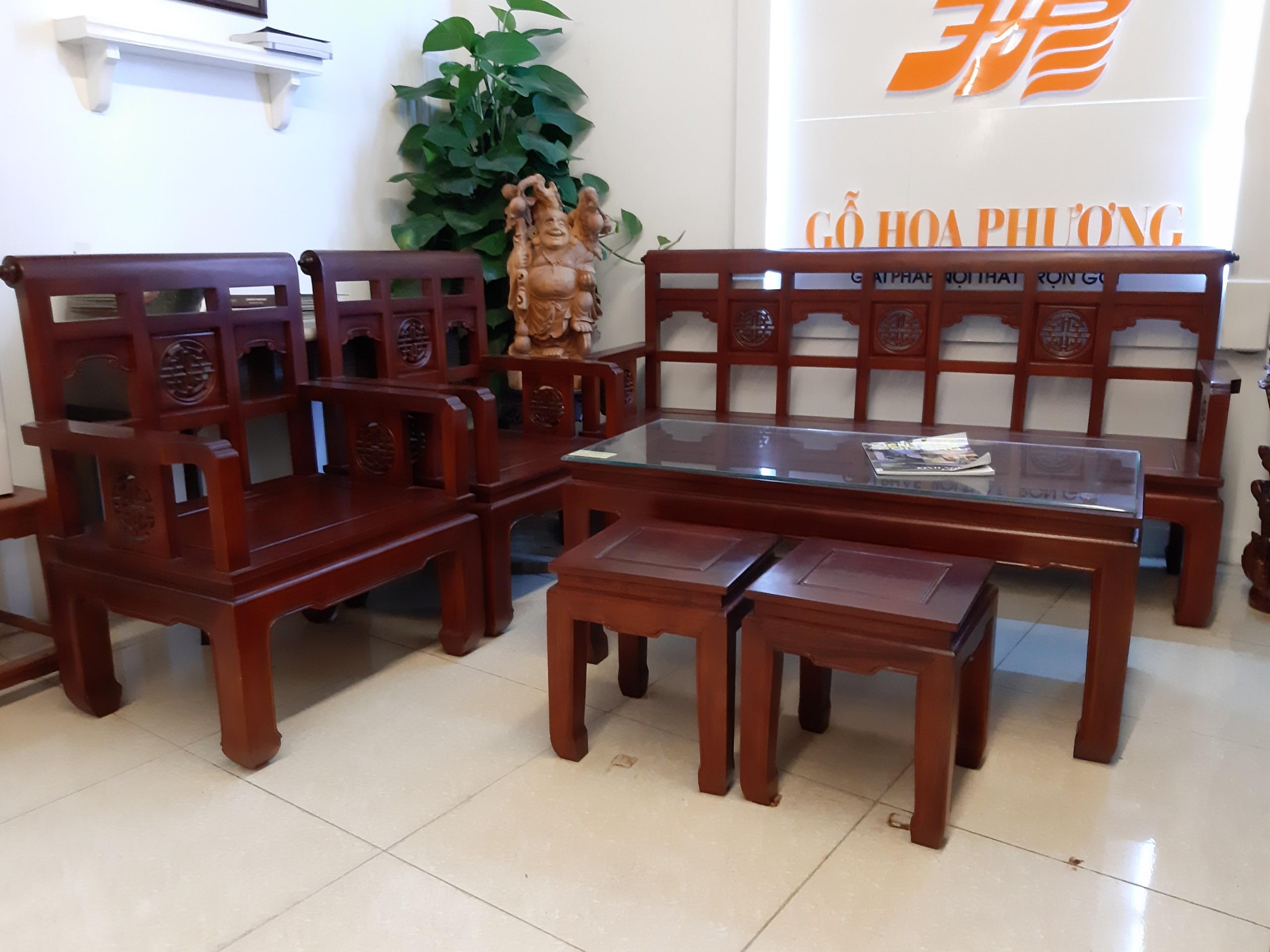 Bộ bàn ghế Triện HP68