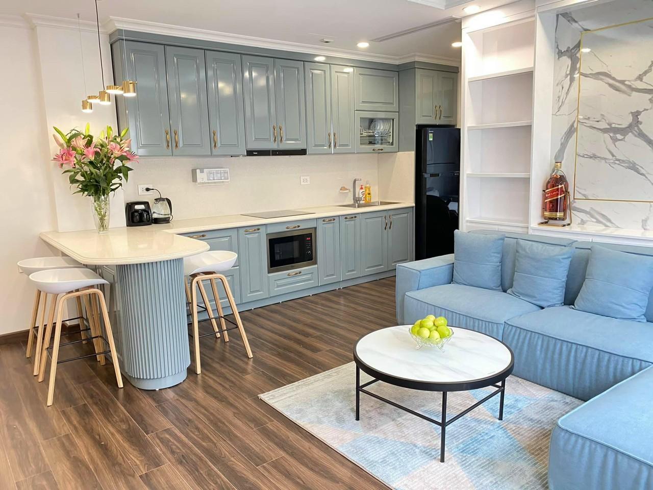 Tủ bếp thiết kế HP016
