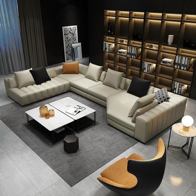 Bộ sofa phòng khách hiện đại HP354