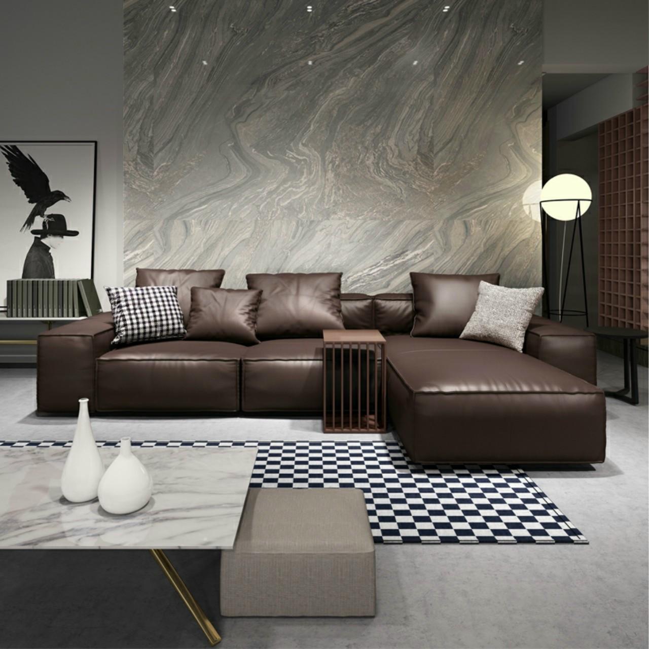 Bộ sofa phòng khách hiện đại HP585