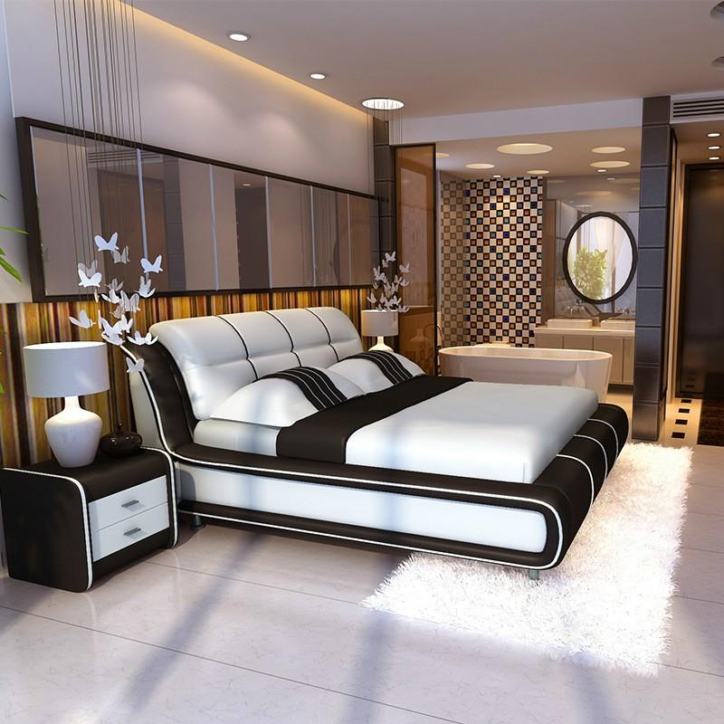 Giường ngủ mẫu hiện đại HP545