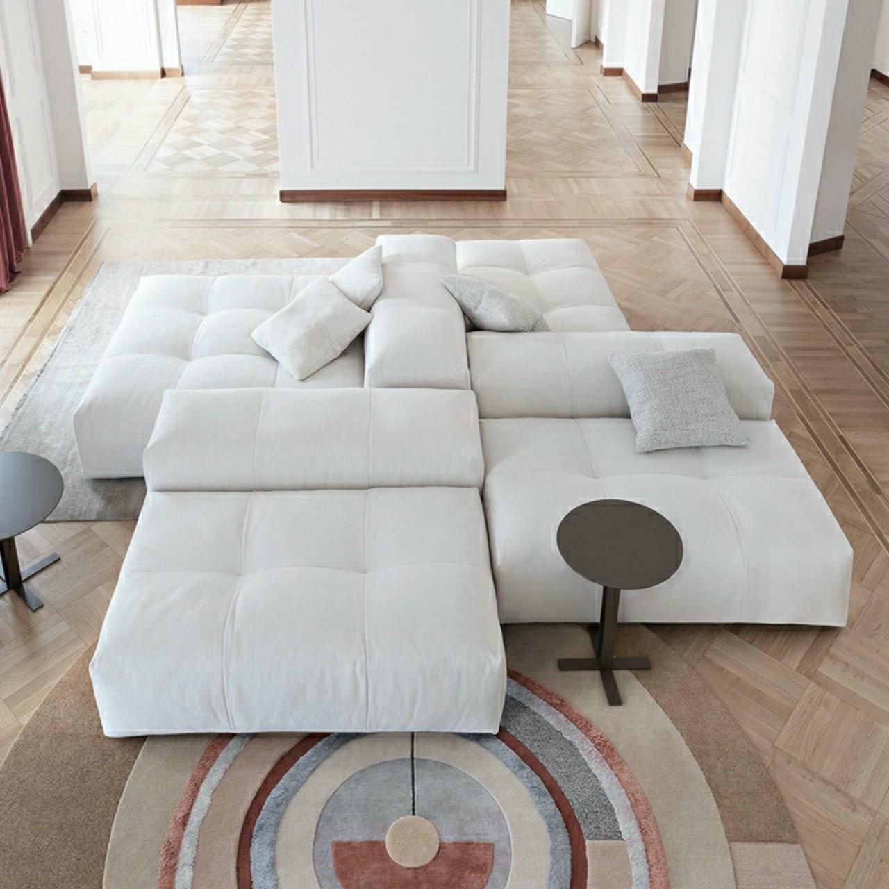 Bộ sofa mẫu hiện đại HP445