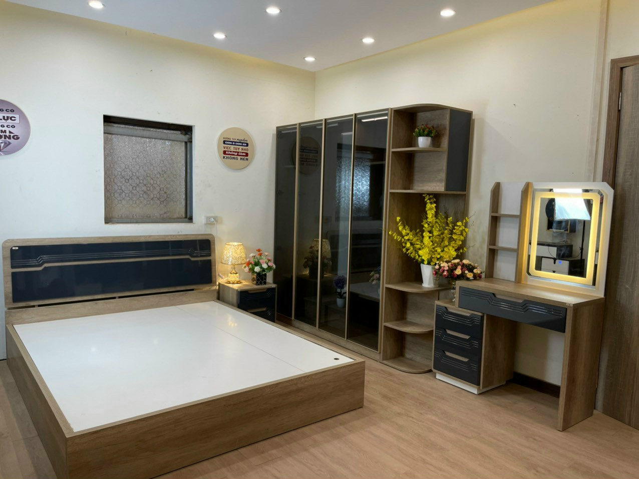 Bộ phòng ngủ hiện đại cao cấp HP123