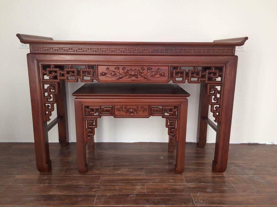 Bàn thờ triện gỗ GỤ HP339