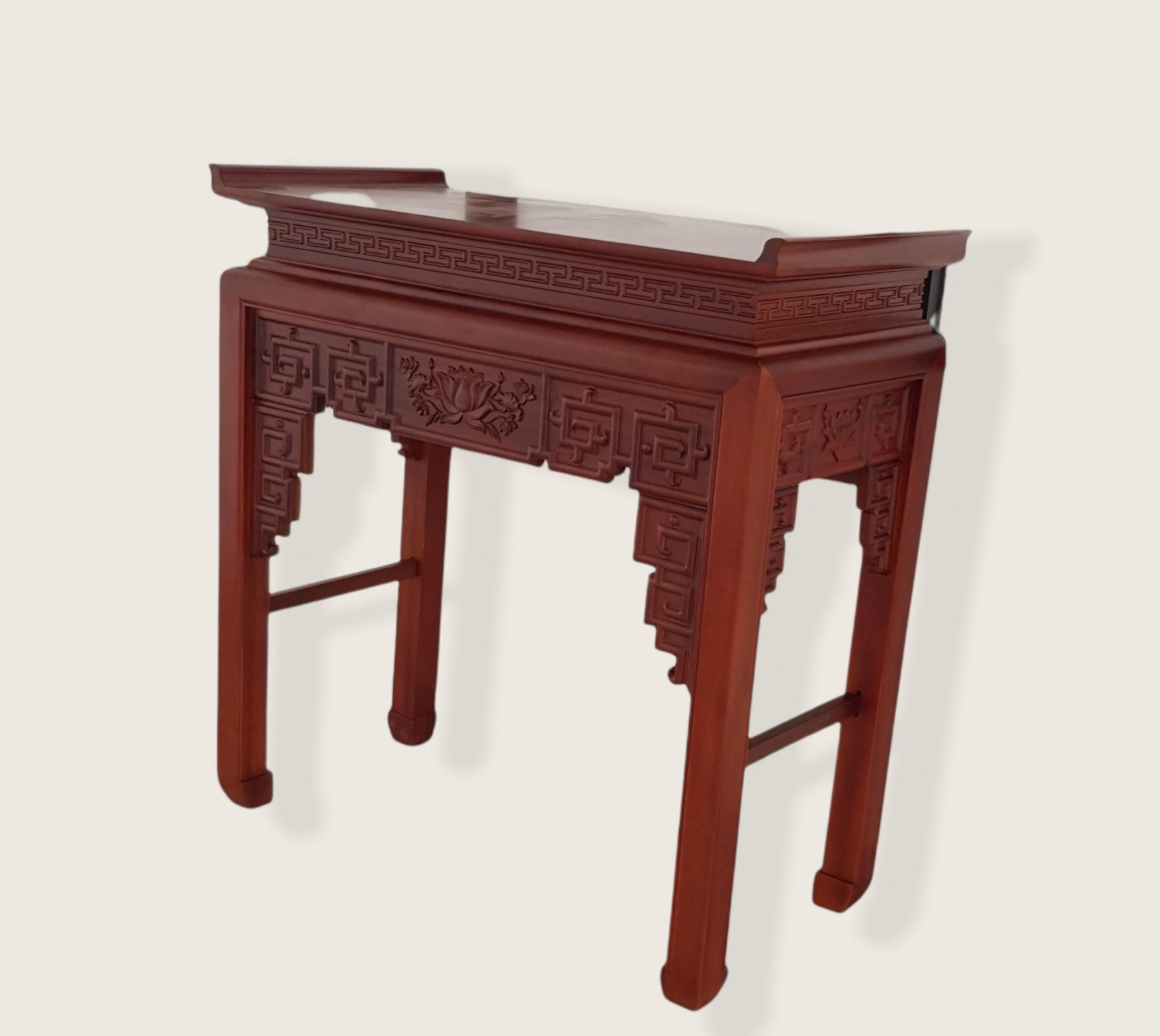 Bàn thờ gỗ Gụ HP379