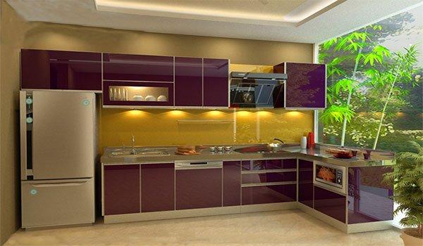 Tủ bếp mẫu hiện đại HP66
