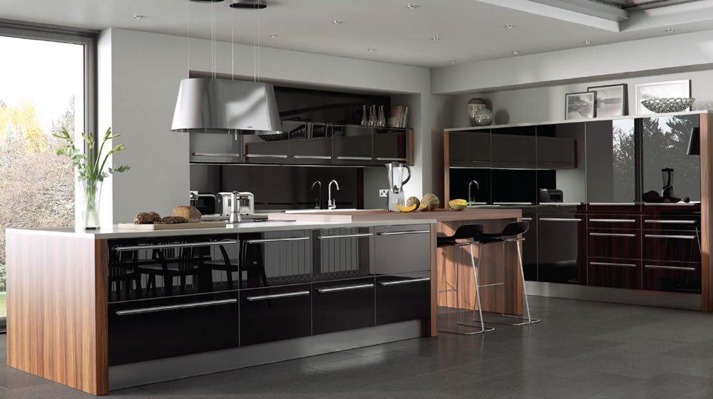 Tủ bếp mẫu hiện đại HP232