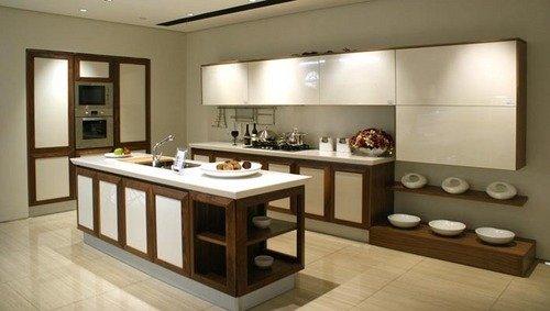 Tủ bếp mẫu hiện đại HP342