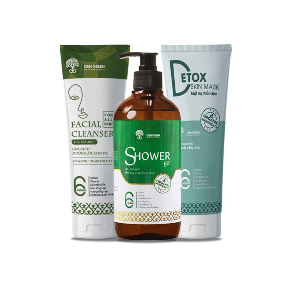 Combo Skin Care GEN GREEN dành cho da thường
