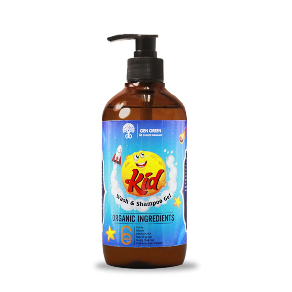 Tắm gội dành cho trẻ nhỏ KID WASH AND SHAMPOO GEL