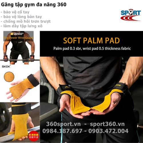 Găng tập gym đa năng 360