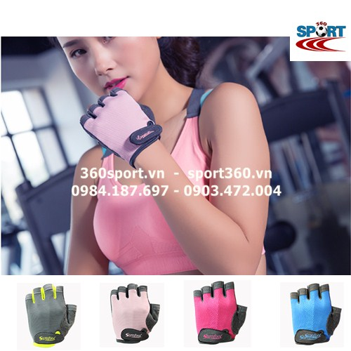 Găng tay tập Gym nữ cao cấp SP19