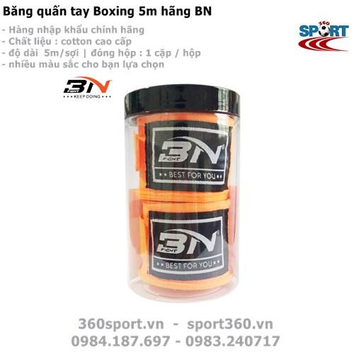 Băng tay Boxing màu cam