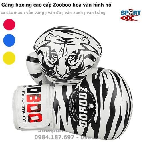 bao tay boxing Zooboo hình hổ