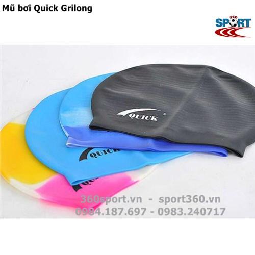 Mũ bơi silicon Quick Grilong giá rẻ