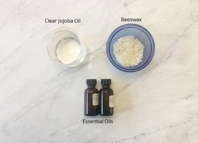 Các nguyên liệu làm Nước Hoa Khô mùi đơn