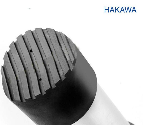 Chân thang hakawa được làm bằng cao su thiết kế chống trơn trượt