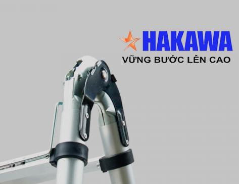 Đầu khóa thang nhôm Hakawa cho độ bền cao hơn.