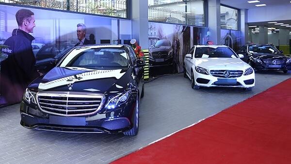 Đăng ký nhận báo giá xe Mercedes