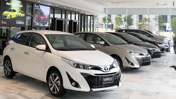Báo giá xe Toyota
