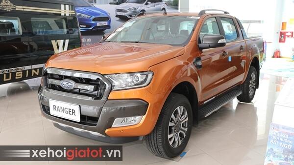 Ford Ranger Wildtrak 2018 giảm giá sốc