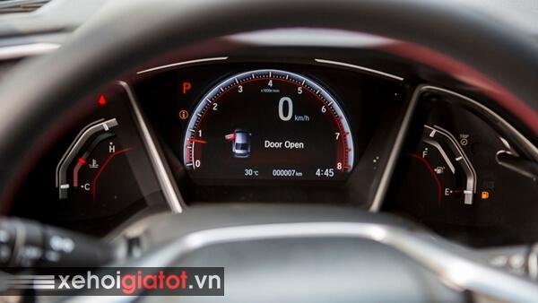 Đồng hồ trung tâm xe Honda Civic