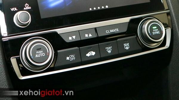 Hệ thống điều hòa xe Civic 1.5 RS