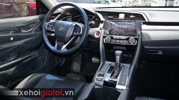 Không gian nội thất xe Honda Civic