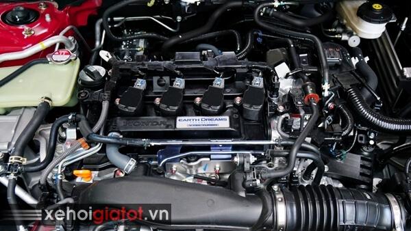 Động cơ tăng áp Vtec Turbo xe Honda Civic