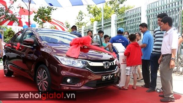 Giá xe ô tô Honda cuối năm