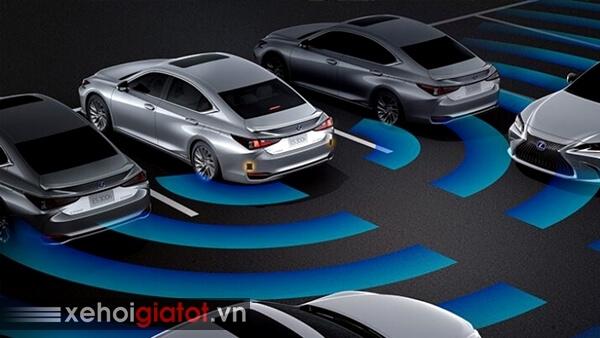Hệ thống cảnh báo hỗ trợ đỗ xe Lexus ES