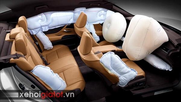 Túi khí an toàn xe Lexus ES