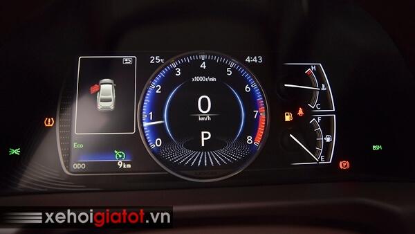 Đồng hồ trung tâm xe Lexus ES