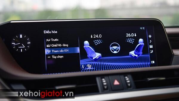 Màn hình giải trí xe Lexus ES
