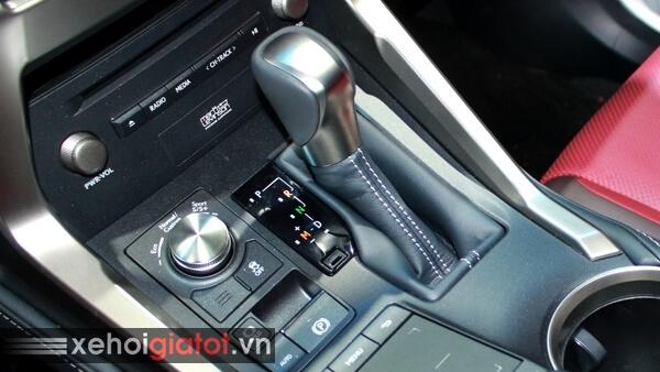 Cần số tự động xe Lexus NX