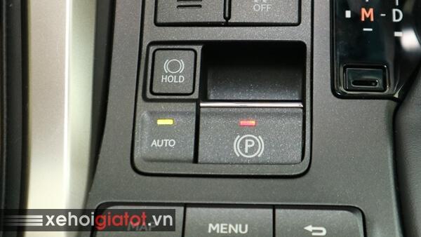 Phanh tay điện tử xe Lexus NX
