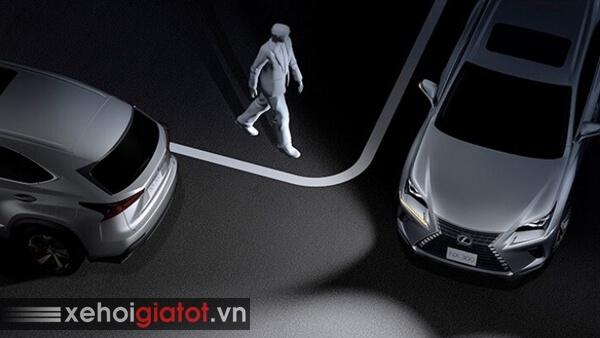 Đèn mở rộng góc lái xe Lexus NX