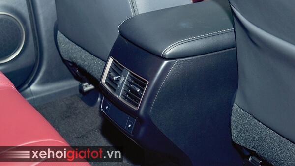 Điều hòa hàng ghế sau xe Lexus NX