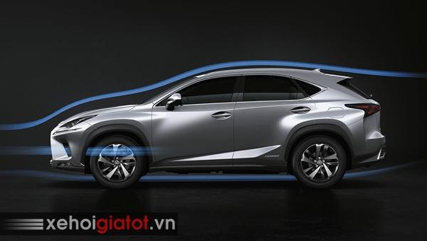 Kiểu dáng khí động học xe Lexus NX