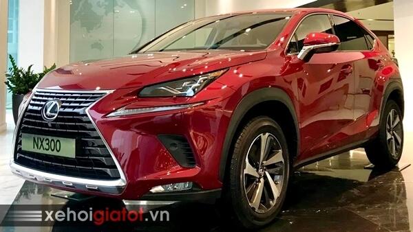 Xe Lexus NX màu đỏ