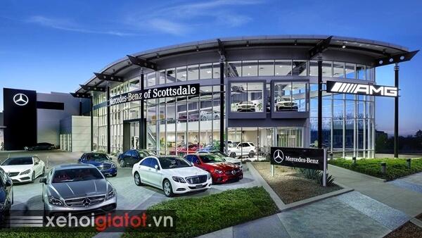 Đại lý xe Mercedes giá tốt nhất